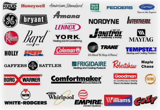 Heating And Cooling Unit Brands : We work with all brands